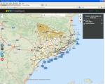 Instamaps. Mapa de prediccions meteorològiques