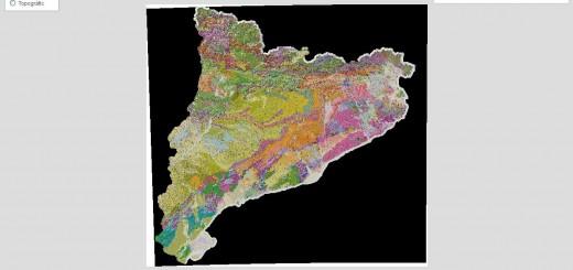 Mapa geològic de Catalunya