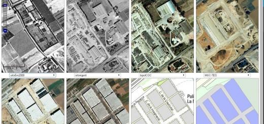 Comparador de canvis urbanístics