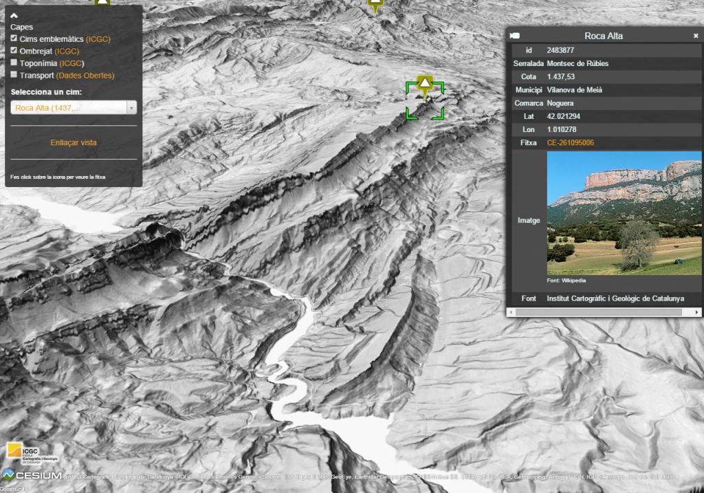 Vista del Montsec de Rúbies