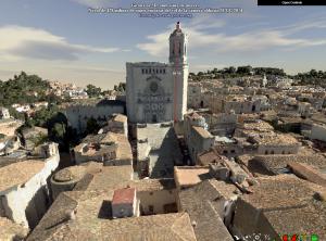 Girona 3D amb mesura vertical