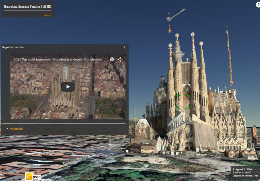 Model Sagrada Família