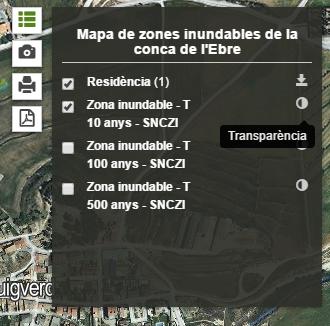 Transparència WMS