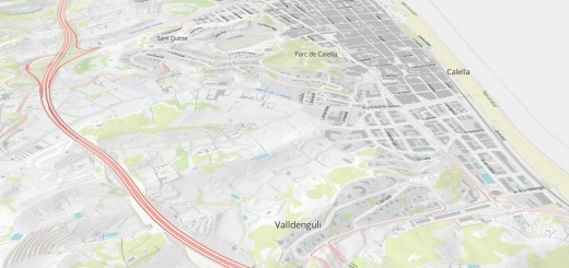 mapa vectortiles